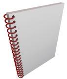 螺旋装订的书套笔记本学报空白拷贝空间 向量例证
