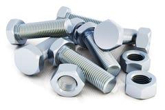 螺栓和坚果 向量例证