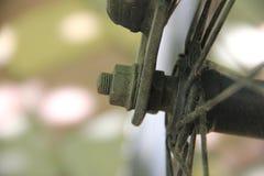 螺栓和编织针 免版税图库摄影