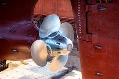 螺栓船 库存照片