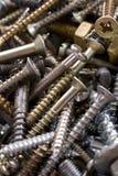 螺栓螺母 库存图片