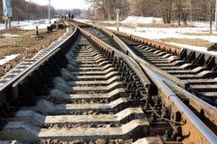 螺栓铁路运输关系 库存图片