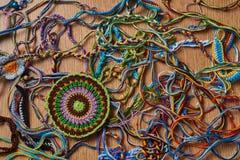 螺纹五颜六色的混乱  图库摄影