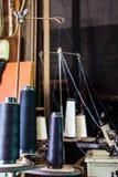 螺纹和材料工艺品的 库存照片