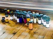 螺纹纺锤 免版税库存图片