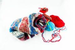 螺纹编织针和球  库存图片