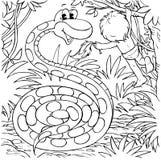 蟒蛇男孩作用 库存图片