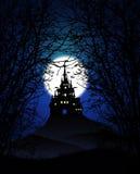 蠕动的城堡背景 库存图片