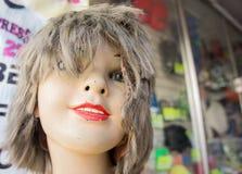 蠕动的葡萄酒儿童时装模特 免版税库存照片
