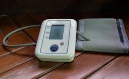 血压显示器 库存照片