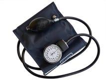 血压显示器 免版税库存照片