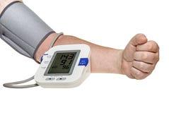 血压检查 免版税图库摄影