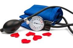 血压米医疗设备 免版税库存图片