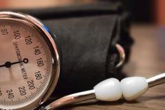 血压米医疗设备 图库摄影