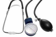 血压计 免版税库存照片