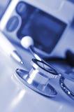 血压设备 免版税库存图片
