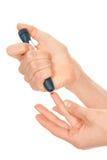 血压评定的测试 库存照片