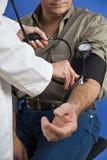 血压读数 图库摄影