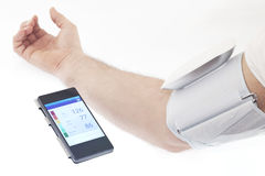 血压 免版税库存图片