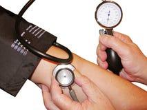 血压 免版税图库摄影