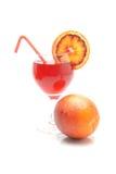 血橙和汁液 免版税库存图片