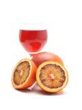 血橙和汁液 库存图片