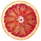 血橙红色片式 库存照片