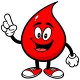 血液下落谈话 免版税库存图片