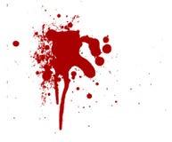 血液下落 免版税库存照片
