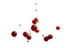 血液下落 免版税库存图片