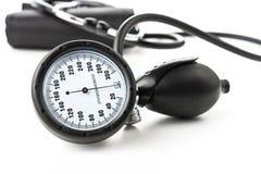 血液仪器评定压 免版税图库摄影