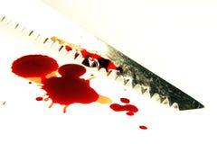 血液匙孔锯 库存照片