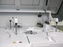 血液和尿测试的设备 免版税库存照片