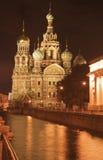 血液大教堂彼得斯堡圣徒 免版税库存图片