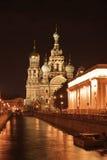 血液大教堂彼得斯堡圣徒 图库摄影