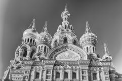 血液教会彼得斯堡俄国救主溢出的st 免版税图库摄影