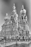 血液教会彼得斯堡俄国救主溢出的st 免版税库存照片