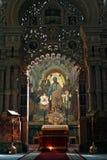 血液教会彼得斯堡圣徒救主 免版税库存照片
