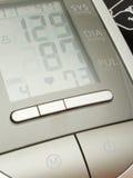 血液数字仪器评定压 库存照片