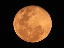 血液月亮 免版税库存照片