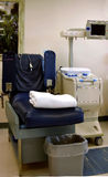 血液椅子使用的捐赠空 免版税库存图片
