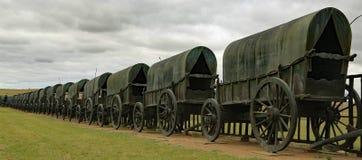 血液河纪念碑Zululand争斗  图库摄影