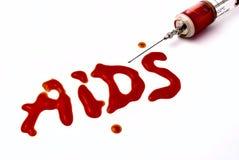 血液注射器 库存照片