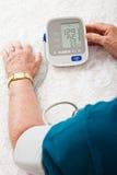 血液监控压 免版税库存图片