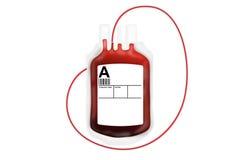 血液袋子捐赠 免版税库存图片