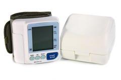 血液设备电子压读取 库存照片
