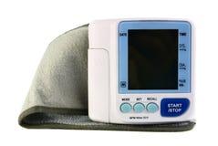 血液设备电子压读取 免版税库存图片
