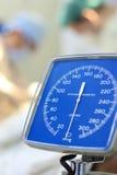 血液设备评定的压 免版税图库摄影