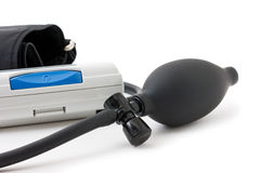 血液设备评定的压 图库摄影