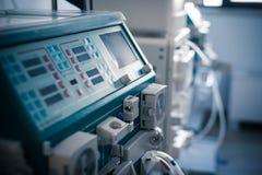 血液透析机器 库存照片